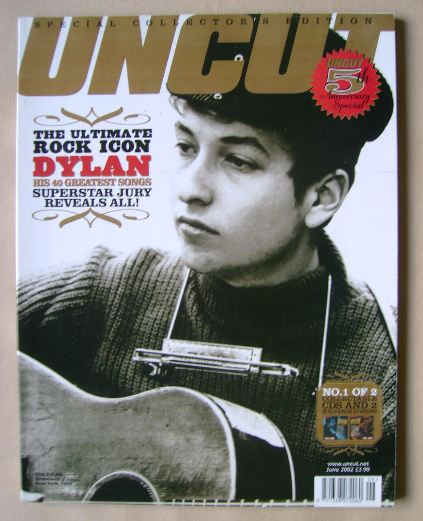 <!--2002-06-->Uncut Special Collector's Edition magazine - Bob Dylan cover