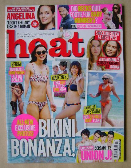 <!--2013-05-25-->Heat magazine - Bikini Bonanza! cover (25-31 May 2013)