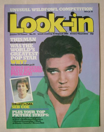<!--1980-08-16-->Look In magazine - Elvis Presley cover (16 August 1980)
