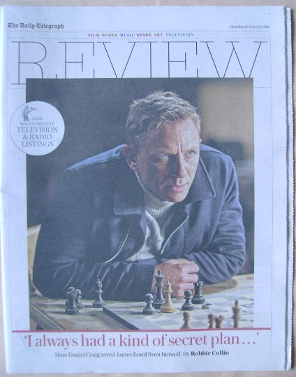 The Daily Telegraph Review newspaper supplement - 10 October 2015 - Daniel
