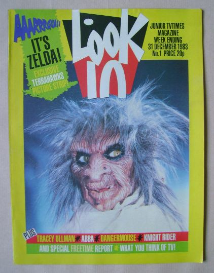 <!--1983-12-31-->Look In magazine - 31 December 1983