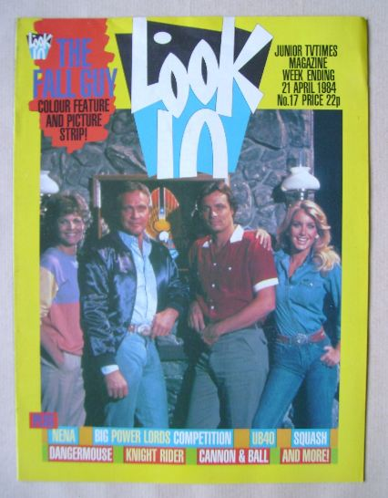<!--1984-04-21-->Look In magazine - 21 April 1984