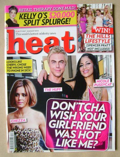 <!--2010-07-31-->Heat magazine - 31 July - 6 August 2010