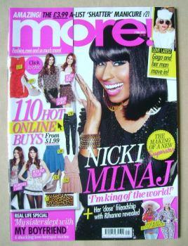 More magazine - Nicki Minaj cover (7 February 2011)