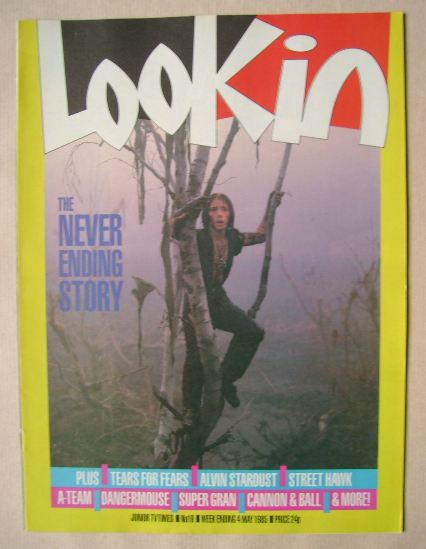 <!--1985-05-04-->Look In magazine - 4 May 1985