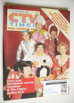 CTV Times magazine - 17-30 December 1988 - Panto cover
