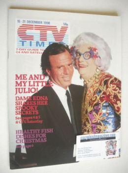 CTV Times magazine - 15-21 December 1990 - Dame Edna Everage and Julio Iglesias cover