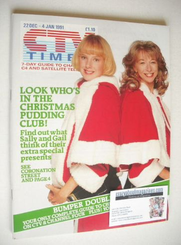 <!--1990-12-22-->CTV Times magazine - 22 December - 4 January 1991 - Sally