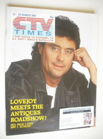 <!--1991-03-23-->CTV Times magazine - 23-29 March 1991 - Ian McShane cover
