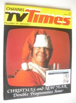 CTV Times magazine - 19 December 1981 - 1 January 1982 - Harry Secombe cover