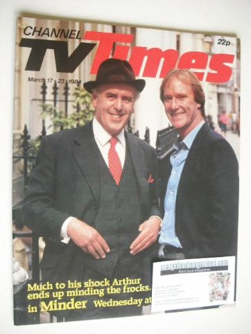 <!--1984-03-17-->CTV Times magazine - 17-23 March 1984 - Minder cover