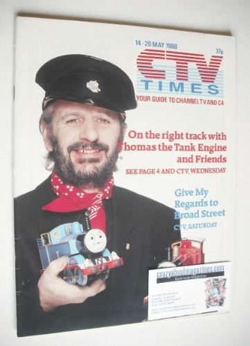 <!--1988-05-14-->CTV Times magazine - 14-20 May 1988 - Ringo Starr cover