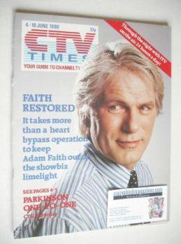 CTV Times magazine - 4-10 June 1988 - Adam Faith cover