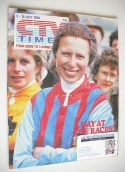 CTV Times magazine - 9-15 July 1988 - Princess Anne cover