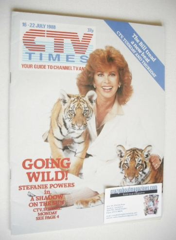 <!--1988-07-16-->CTV Times magazine - 16-22 July 1988 - Stefanie Powers cov