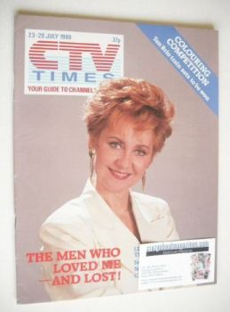 CTV Times magazine - 23-29 July 1988 - Lulu cover