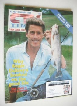 CTV Times magazine - 30 July - 5 August 1988 - Roger Daltrey cover