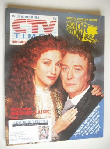 <!--1988-10-15-->CTV Times magazine - 15-21 October 1988 - Jane Seymour and