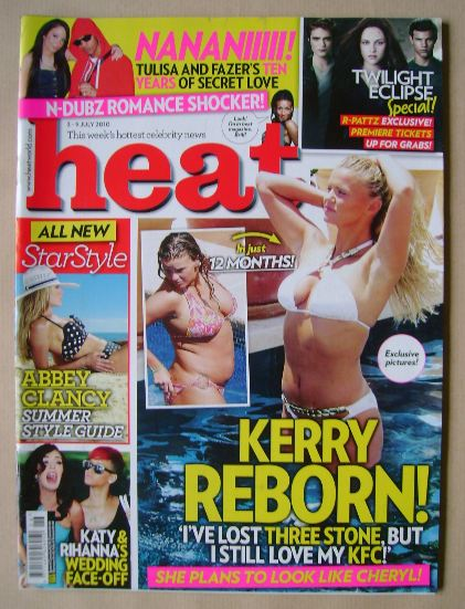 <!--2010-07-03-->Heat magazine - 3-9 July 2010