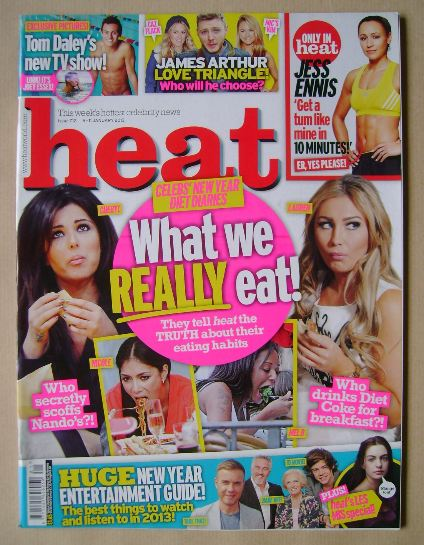 <!--2013-01-05-->Heat magazine - 5-11 January 2013