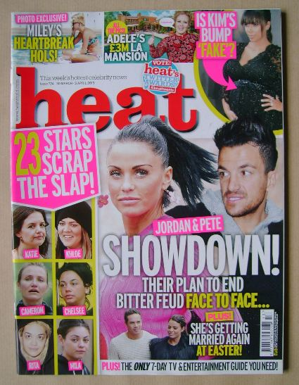<!--2013-03-30-->Heat magazine - Jordan / Peter Andre cover (30 March - 5 A