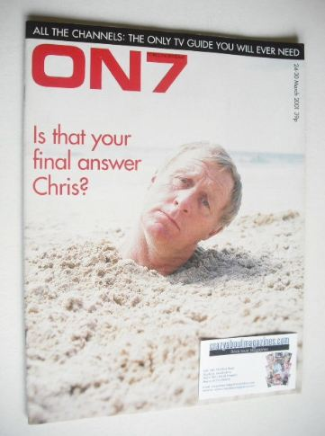 <!--2001-03-->ON7 magazine - March 2001 - Chris Tarrant cover