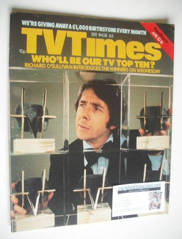 <!--1976-04-10-->TV Times magazine - Richard O'Sullivan cover (10-16 April