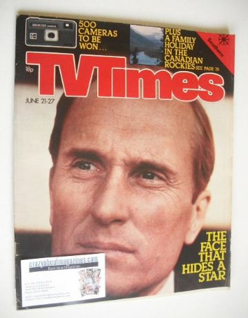 <!--1980-06-21-->TV Times magazine - Robert Duvall cover (21-27 June 1980)