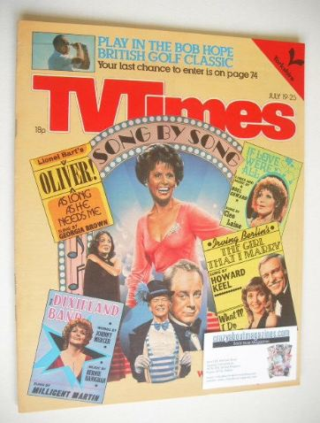 <!--1980-07-19-->TV Times magazine - Show-Stoppers cover (19-25 July 1980)