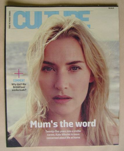 <!--2015-11-01-->Culture magazine - Kate Winslet cover (1 November 2015)