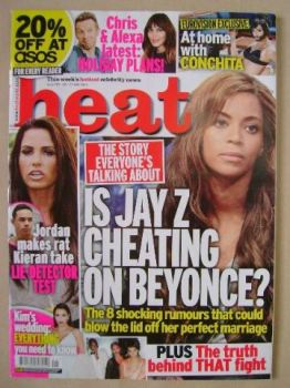 Heat magazine - Beyonce cover (24-30 May 2014)