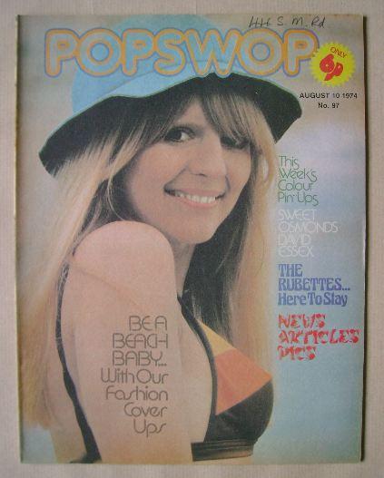 <!--1974-08-10-->Popswop magazine - 10 August 1974