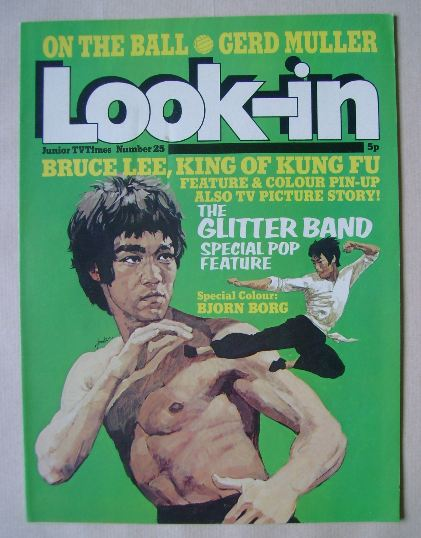<!--1974-06-29-->Look In magazine - Bruce Lee cover (29 June 1974)