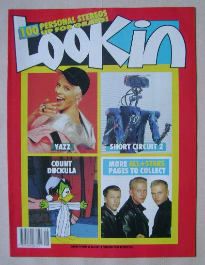 <!--1989-02-18-->Look In magazine - 18 February 1989