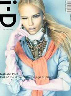 i-D magazine - Natasha Poly cover (October 2008)