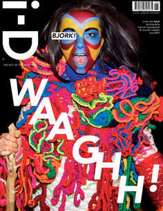 i-D magazine - Bjork cover (June 2007)