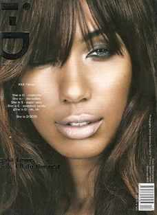 i-D magazine - Leona Lewis cover (December 2008)