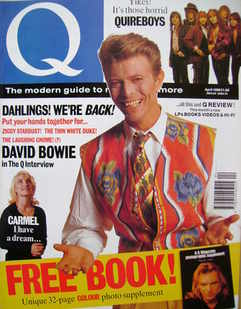 Q magazine - David Bowie cover (April 1990)