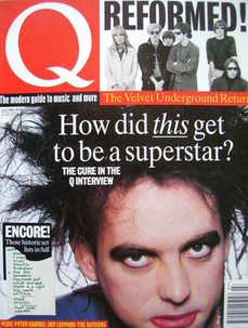 Q magazine - Robert Smith cover (July 1993)