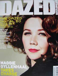 <!--2007-07-->Dazed & Confused magazine (July 2007 - Maggie Gyllenhaal cove