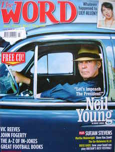 <!--2006-07-->The Word magazine - Neil Young cover (July 2006)