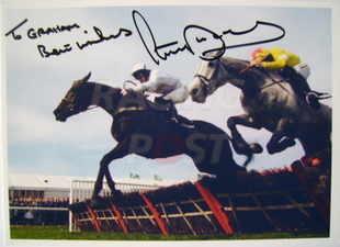 Tony McCoy autograph