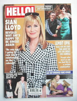 <!--2007-01-23-->Hello! magazine - Sian Lloyd cover (23 January 2007 - Issu
