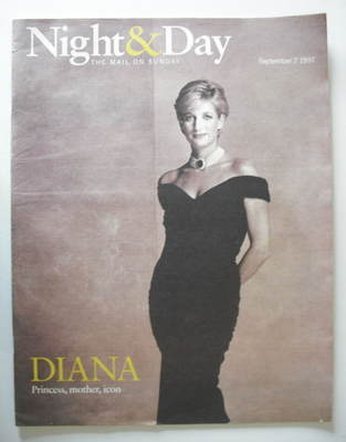 Night & Day magazine - Princess Diana cover (7 September 1997)