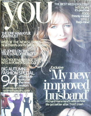 <!--2007-09-23-->You magazine - Mindy Hammond cover (23 September 2007)