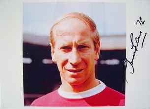 Bobby Charlton autograph