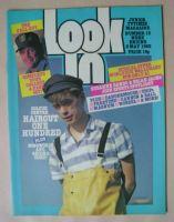 <!--1982-05-08-->Look In magazine - Nick Heyward cover (8 May 1982)