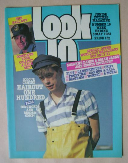 <!--1982-05-08-->Look In magazine - Nick Heyward cover (8 May 1982)