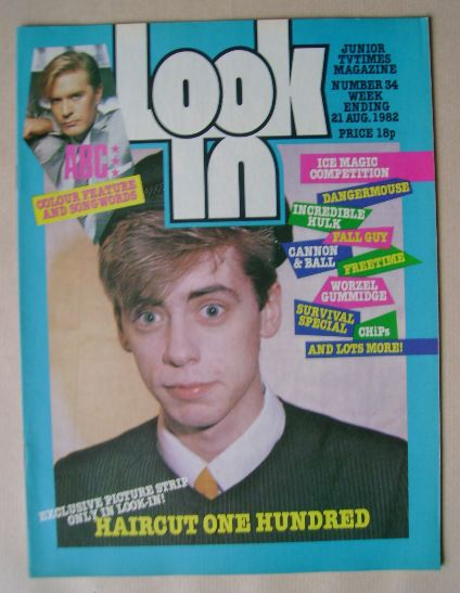<!--1982-08-21-->Look In magazine - Nick Heyward cover (21 August 1982)