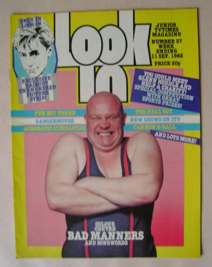 <!--1982-09-11-->Look In magazine - Buster Bloodvessel cover (11 September